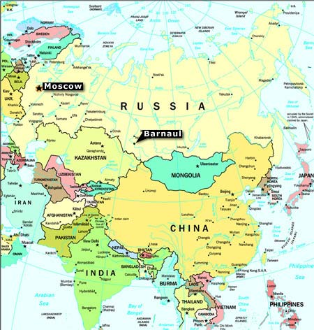 Russia On Europe Map.Moscow Map Europe Casami